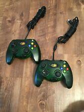 Mad Catz 2 Green Original Xbox Wired Controller Microsoft Original Xbox Console