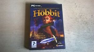 THE HOBBIT : PRELUDE TO THE LORD OF THE RINGS - PC GAME- ORIGINAL & COMPLETE VGC