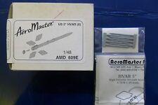 "AERO MASTER 1:48 KIT ACCESSORI AEREO ACCESSORIES US 5"" HVAR (8)  ART AMD 609E"