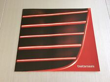 Ferrari Testarossa Sales Brochure/ Prospekt, Sales Specification. 1984