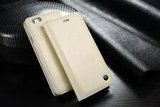 For Apple iPhone 6 plus-Leather  Case Magnet Flip- White