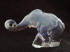 88 Heisey by Imperial by Fenton Elephant MARKED FENTON ALIG HCA--ONE OF A KIND