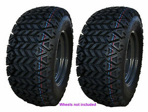 (2) 25x10-12 25-10-12 OTR MAG 350 HDWS Tires For Kubota RTV 900/1100/1140 UTV's