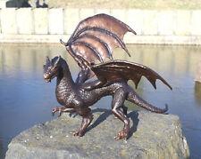 Bronze Drache Wyvern Dragon Skulptur