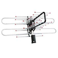 HDTV Outdoor Amplified 1080P TV Antenna Digital UHF&VHF 360 Rotation 150Mile
