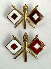US Army Signal Corps Collar Pins