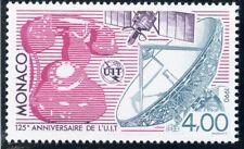 TIMBRE DE MONACO N° 1718 ** TELEPHONE SATELLITE ANTENNE PARABOLIQUE