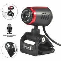 Webcam für PC Laptop Beliebt Full HD USB 0.8M Videokamera mit Mikrofon Skype 1x