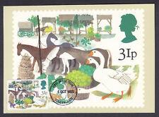 1983 GB Used Single Maxi PHQ Postcard British Fairs Early Trade & Produce Fair