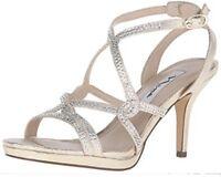 Nina Womens Varsha-Yf Dress Sandal, Goldina Skylina, 7.5 M MRSP : $80