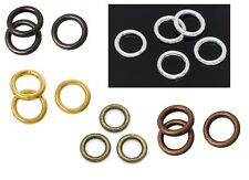 6mm Soldered Closed Jump Rings - Gold - Pre-order