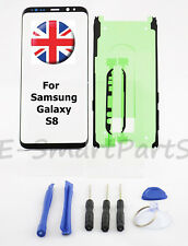 Samsung Galaxy S8 Front Outer Glass Screen Lens Replacement Repair with Adhesive