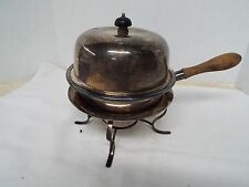Antique Vintage Silver Plate Chafing Dish - 1860's