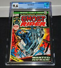 Ghost Rider 1 CGC 9.6 White Pages 1973 1st Son Of Satan