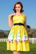 Pinup Girl Clothing Mary Blair Aurora Dress Train