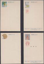 RYUKYU-JAPAN, 1964-65. Post Cards, Scott UX26S-29S  MIHON set