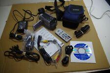 JVC GZ-MG20EK HDD Hard Disk Drive Camcorder Tested Works