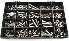 415 ASSORTED PIECE A2 STAINLESS STEEL M4 M5 M6 M8 M10 SET SCREWS BOLTS NUTS KIT