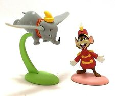 NEW 2Pcs Set Disney TOMY Japan Choco Party Egg Dumbo & Timothy Q Mouse Figure