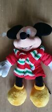 Christmas Micky Mouse 45cm Tall Disney Store 2010