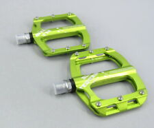 SHANMASHI Aluminum MTB Mountain Road FR XC Bike Pedals flat Bicycle Pedal Green