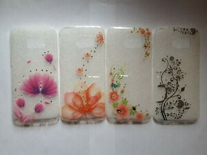 TPU floral, flower clear gel phone case, cover for Samsung Galaxy S7 edge G935F