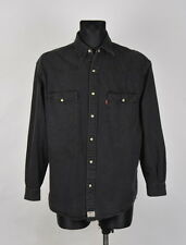 Levis Vintage Men Denim Shirt In Size M, Genuine