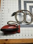 Antique Sunny Suzy No 25 Wood Handle Wolverine Mfg Toy Electric Iron