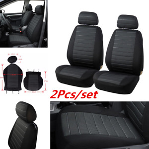Durable Jacquard Cloth with 5mm Foam Padding Car Seat Cover Protector Universal