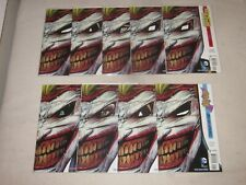 DEATH OF THE FAMILY JOKER COVER LOT NM!!! 9 ISSUES BATMAN BATGIRL DETECTIVE COMI