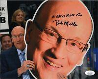 "~ BOB MILLER Authentic Hand-Signed ""LOS ANGELES KINGS"" 8x10 Photo (JSA COA) B~"