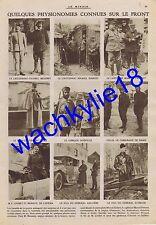 Le miroir n°90 15/08/1915 prisonniers château de Celle Béthancourt Hansi Zislin