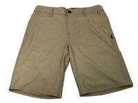 Oneill Board Shorts Sand Beige Mens Size 32 Inseam 10 Surf Shorts Trunks EUC