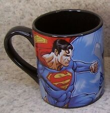 Coffee Mug Entertainment Superman vs Lex Luther New 11 ounce cup with gift box