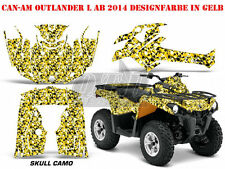 AMR Racing DECORO KIT ATV CAN-AM Outlander STD & XMR/MAX GRAPHIC KIT SKULL CAMO B