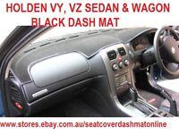 DASH MAT, BLACK DASHMAT, DASHBOARD COVER FIT HOLDEN VY, VZ 2002-2006, BLACK