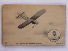Aviation - Auburn On Monoplane Blériot Ed. Eld