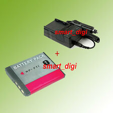 Battery+Charger for Sony Cyber-shot DSC-T5 DSC-T9 DSC-T10 DSC-T33 Digital Camera