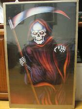vintage Death Dealer 1989 skeleton skater  Poster 334