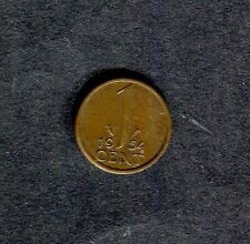 Netherlands: 1951 1 Cent Coin (Holland)