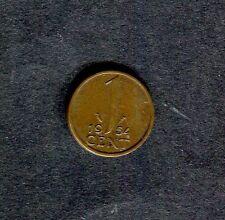 Netherlands: 1951 1 Cent Coin (Holland)