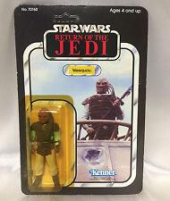 ROTJ 65 back Weequay vintage Star Wars Kenner Return of the Jedi UNPUNCHED toy