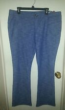 Mossimo Supply Co. Boot Cut Chambray Blue Jeans ~ Junior Size 17