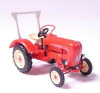 H0 BUSCH Traktor Porsche Junior K Überrollbügel Dioramamodell Motorhaube # 50004