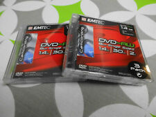 6er Pack EMTEC,Rohlinge Mini DVD-RW (8cm) 1,4 GB im Jewelcase 2x 3er Pack.
