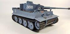 Reino Unido de Radio Control Remoto RC Militar TANQUE HENG largo 2.4G German Tiger V6.0 Modelo