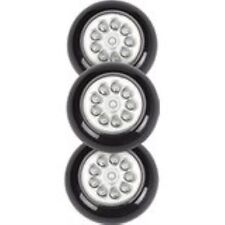 LIGHT IT by Fulcrum 30016-303 9 LED Wireless Anywhere Stick On Tap Light, 3 Pack