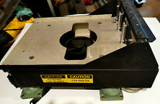 HELICOPTER ELECTRONIC EQUIPMENT  MOUNTING BASE  / WITH FAN / MIL SURPLUS