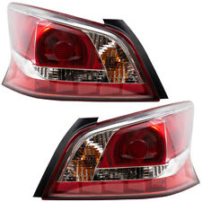 New Pair Set Taillight Taillamp Lens Housing Assembly for 13 14 15 Nissan Altima
