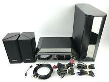 Panasonic SA-PTX7 Digital DVD HDD Home Theater Receiver W/Speakers Sub NICE